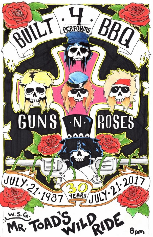 7.21.17 GNR poster